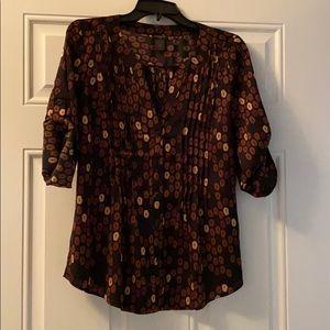 Ladies Ann Taylor blouse